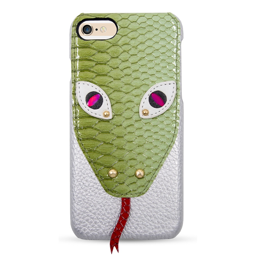 Case Green Snake Head iPhone 7/8/SE2 CASE
